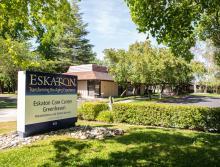 Eskaton Care Center Greehaven sign