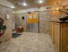 Resident shower room