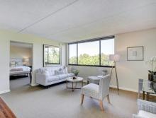 Living Room in Deluxe One Bedroom