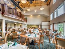 Eskaton Village Grass Valley dining room.
