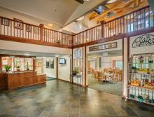 Eskaton Village Grass Valley front lobby.