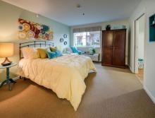 Patio home bedroom