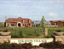 Eskaton Village Roseville's community grounds