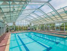 Eskaton Village Roseville's indoor pool.