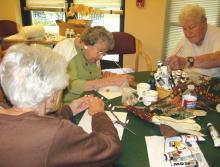 The Reutlinger Community arts and craft class
