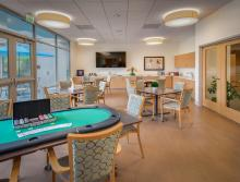 The Trousdale activity and game room