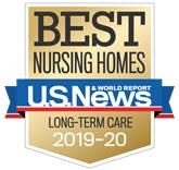 U.S. News and World Report Best Nursing Homes award