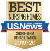 Best Nursing Homes in America by US News and World Reports award