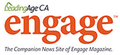 LeadingAge Ca engage logo