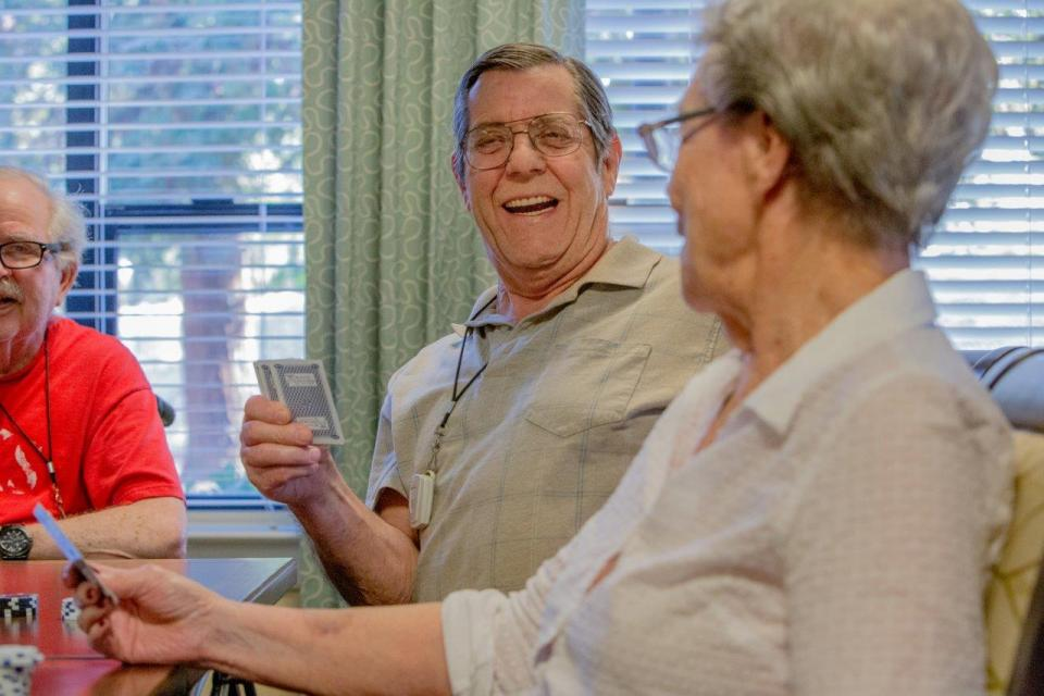 OCW-residents playing cards