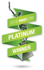 MarCom Platinum awards in the Non-Profit and PSA categories