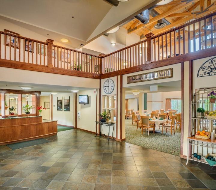 Eskaton Village Grass Valley's reception area