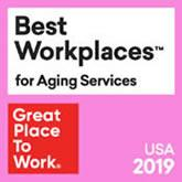 2019 Best Work Places for Aging Services logo
