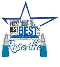 "Best of the Best"" by readers of Roseville and Granite Bay Press Tribune:award"