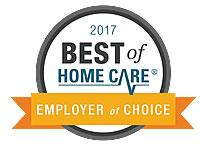 Best of Home Care® Employer of Choice Award